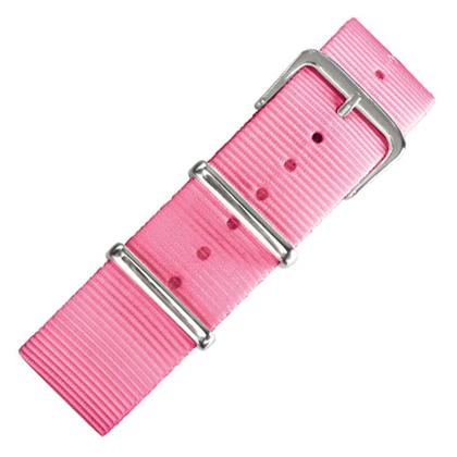 Pink NATO Military Nylon Strap - SS