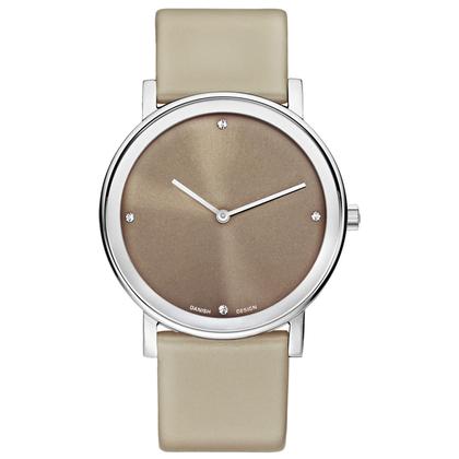 Danish Design Replacement Watch Band IQ14Q1042 Gray Brown