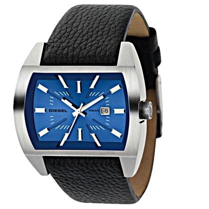Diesel DZ1115 Watch Strap Black Leather