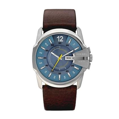 Diesel DZ1399 Watch Strap Brown Leather