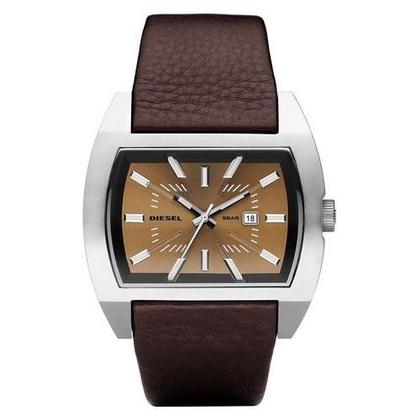 Diesel DZ1114 Watch Strap Brown Leather