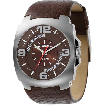 Diesel DZ1145 Watch Strap Brown Leather
