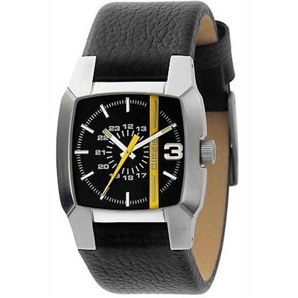 Diesel DZ1089 Watch Strap Black Leather