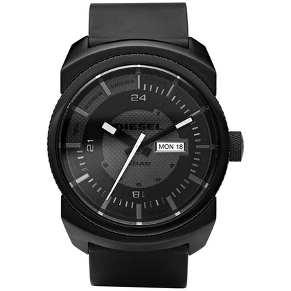 Diesel DZ1262 Watch Strap Black Rubber