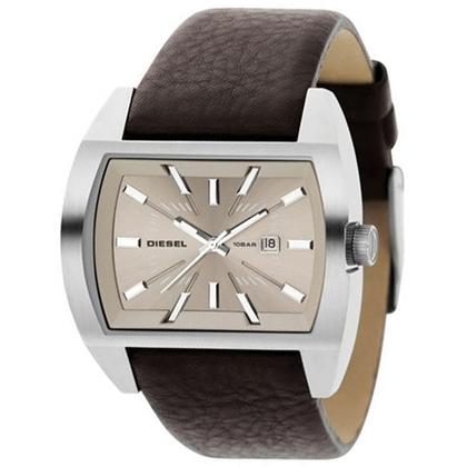 Diesel DZ1113 Watch Strap Brown Leather