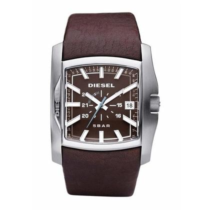 Diesel DZ1179 Watch Strap Brown Leather