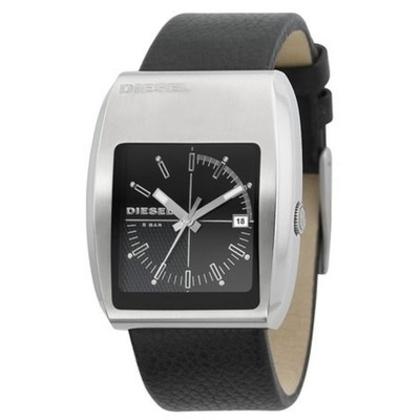 Diesel DZ1192 Watch Strap Black Leather