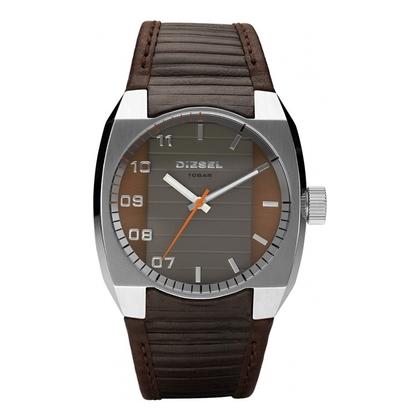 Diesel DZ1394 Watch Strap Brown Leather