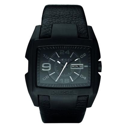 Diesel DZ1430 Watch Strap Black Leather