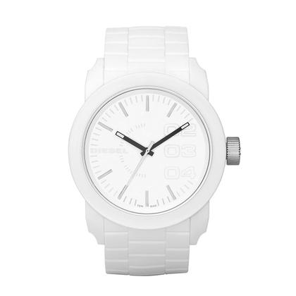 Diesel DZ1436 Watch Strap White Rubber