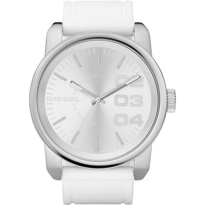 Diesel DZ1445 Watch Strap White Rubber