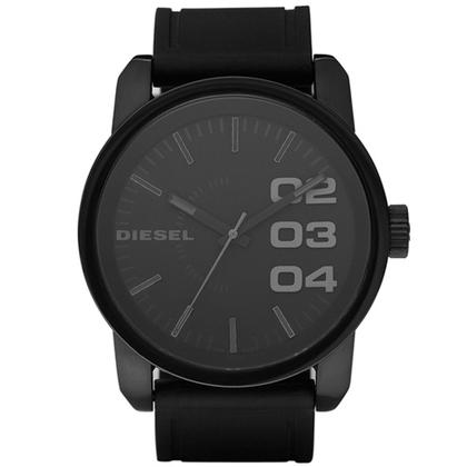 Diesel DZ1446 Watch Strap Black Rubber