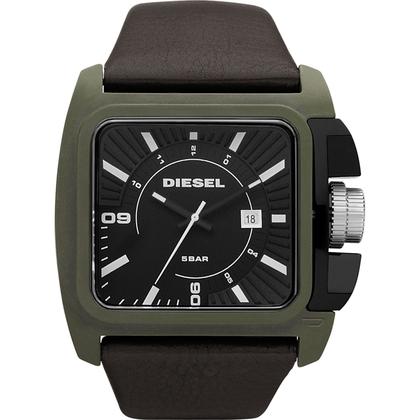 Diesel DZ1543 Watch Strap Brown Leather