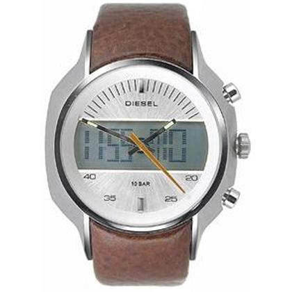 Diesel DZ4038 Watch Strap Brown Leather