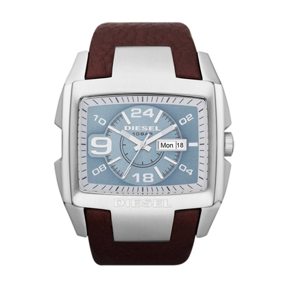 Diesel DZ4246 Watch Strap Brown Leather