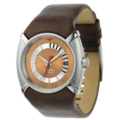 Diesel DZ3036 Watch Strap Brown Leather