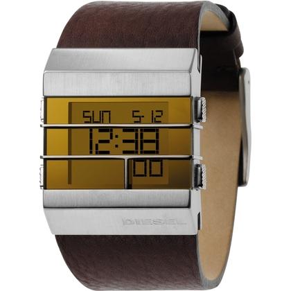 Diesel DZ7071 Watch Strap Brown Leather