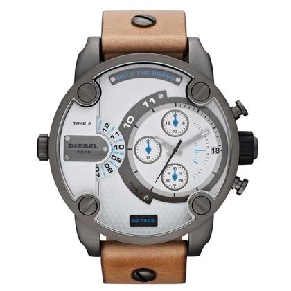 Diesel DZ7269 Watch Strap Brown Leather