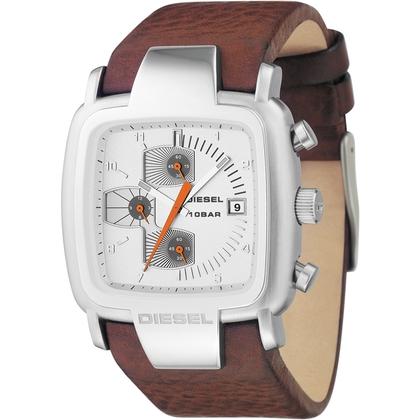 Diesel DZ4029 Watch Strap Brown Leather