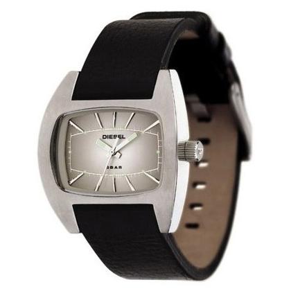 Diesel DZ2063 Watch Strap Black Leather
