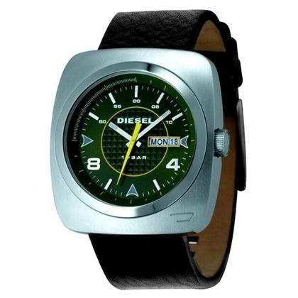 Diesel DZ1148 Watch Strap Black Leather