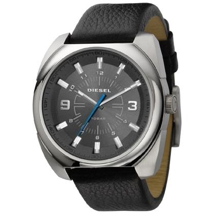 Diesel DZ1246 Watch Strap Black Leather