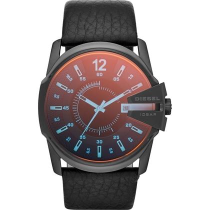 Diesel DZ1657 Watch Strap Black Leather