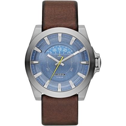 Diesel DZ1661 Watch Strap Brown Leather