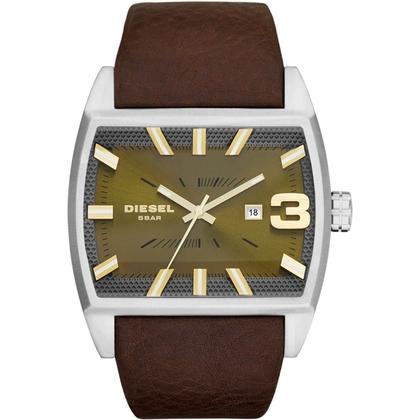 Diesel DZ1675 Watch Strap Brown Leather
