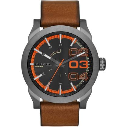 Diesel DZ1680 Watch Strap Brown Leather