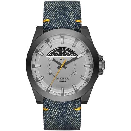 Diesel DZ1689 Watch Strap Denim Blue Leather