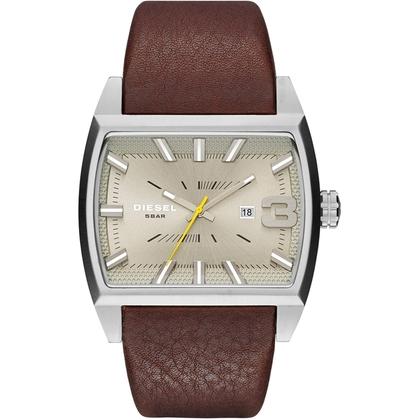 Diesel DZ1704 Watch Strap Brown Leather