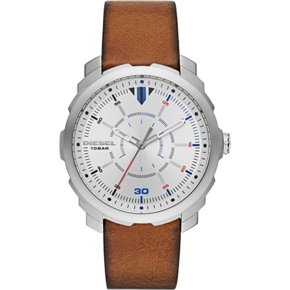 Diesel DZ1736 Watch Strap Brown Leather
