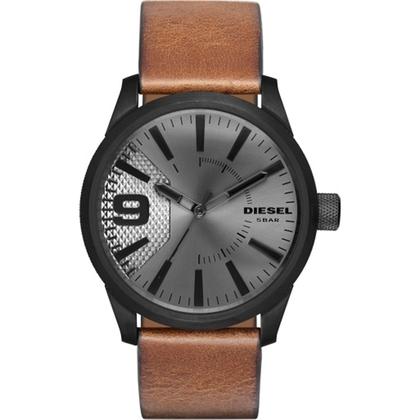Diesel DZ1764 Watch Strap Brown Leather