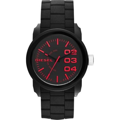 Diesel DZ1777 Watch Strap Black Rubber
