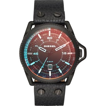 Diesel DZ1793 Watch Strap Black Leather