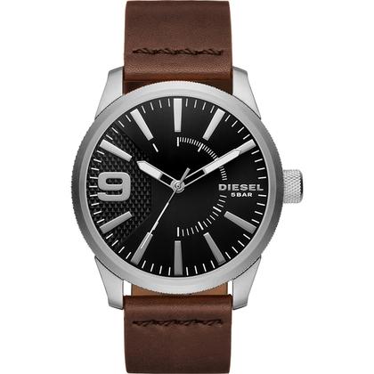 Diesel DZ1802 Watch Strap Brown Leather