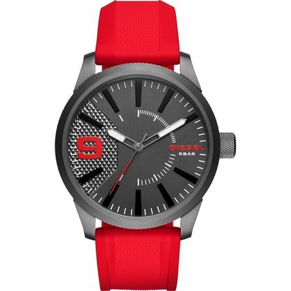 Diesel DZ1806 Watch Strap Red Rubber