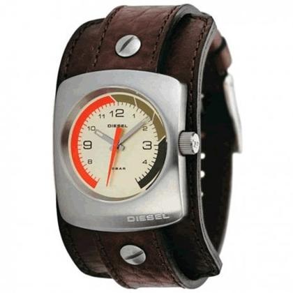 Diesel  DZ2022 Watch Strap Brown Leather