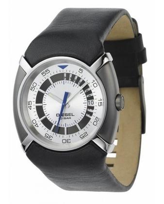 Diesel DZ3035 Watch Strap Black Leather