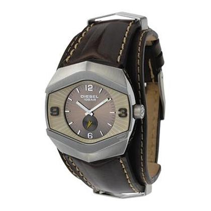Diesel DZ4072 Watch Strap Brown Leather