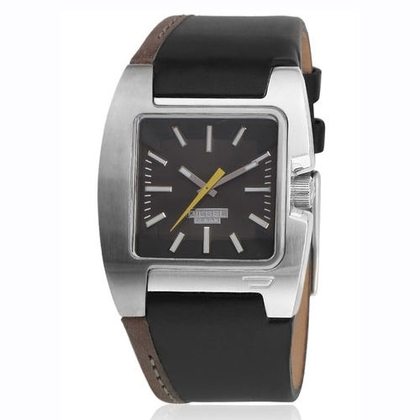 Diesel DZ4083 Watch Strap Black Leather