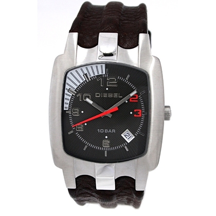 Diesel DZ4117 Watch Strap Brown Leather