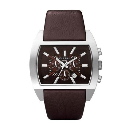 Diesel DZ4138 Watch Strap Brown Leather