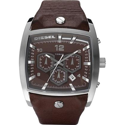 Diesel DZ4184 Watch Strap Brown Leather