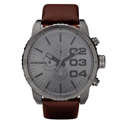 Diesel DZ4210 Watch Strap Brown Leather
