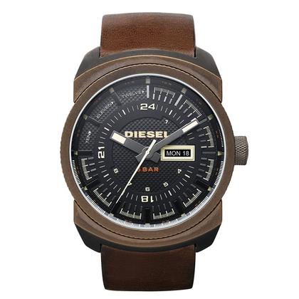 Diesel DZ4239 Watch Strap Brown Leather