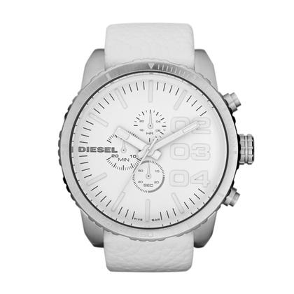 Diesel DZ4240 Watch Strap whiteLeather