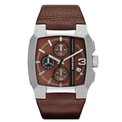 Diesel DZ4274 Watch Strap Brown Leather