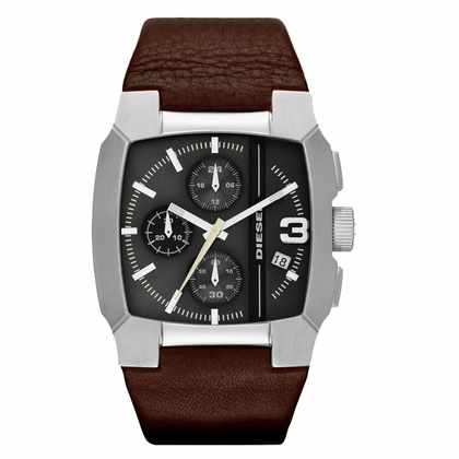 Diesel DZ4276 Watch Strap Brown Leather